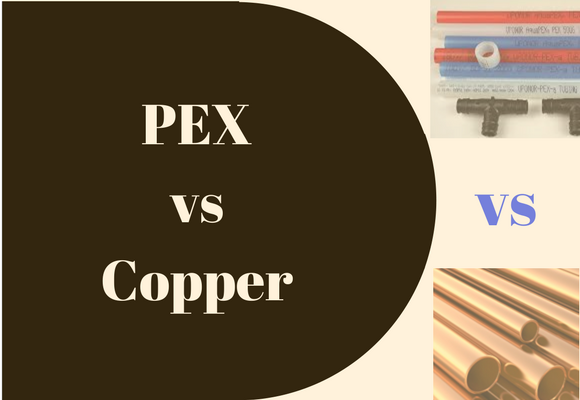 PEX vs Copper Pipe
